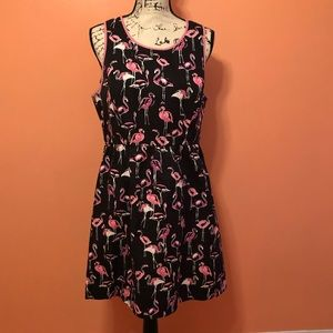 Crown & Ivy flamingo dress size 12.